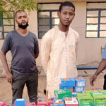 Young Thief Who Stole 273 Phones Worth N15m In Katsina Finally Paraded (Photos)