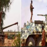 PHOTOS: Boko Haram Releases Photos Of Their Newly Acquired Armored Tanks, Operation Vehicles, Others Captured From Nigerian Army