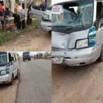 Man Hit By Bus Escapes Death By Whiskers In Osun