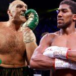 Anthony Joshua vs Tyson Fury fight date and venue revealed
