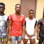Four men arrested for allegedly kidnapping 13-year-old girl