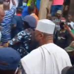 Crowds As Ex-Senate President Saraki Arrives Ilorin Mosque To Attend Tafsir (VIDEO)