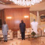 Attahiru: Defence Minister Brief Buhari On Military Plane Crash (photos)