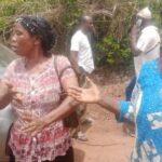 Protest  in Ogun State as gunmen abduct driver, three passengers