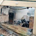 Fire Razes INEC Office In Enugu
