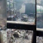 BREAKING: Two INEC offices set ablaze in Ebonyi