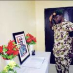 New COAS, Farouk Yahaya, Pays Final Respects To Attahiru