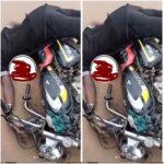 Photos: Unknown Gunmen Shoots Okada Rider Dead In Mbaise