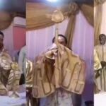 Photos: Outrage As Prophet Odumeje Lifts Monstrance During Adoration