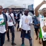 Oduduwa Rally: Shots Fired As Sunday Igboho's Men Clash With DSS (video)