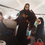 Abaya: Buhari's Daughter, Zahra, Her Sister In-Laws Show Supports To Kano Varsity Student Harassed By Male Colleagues (photos & video)