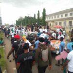 PHOTOS: Yoruba Nation Agitators Storm Akure