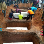 PHOTOS:  Victims Of Fulani Herdsmen Attacks Are Buried In Benue