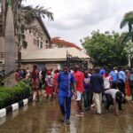 Mbaka resurfaces, protesting youths attack Enugu bishop's house