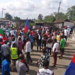 Protesting Ijaw Youths Shut Down NDDC Headquarters In Rivers State