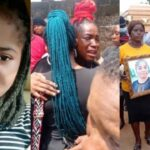 Ada Jesus' Father Reveals Her Last Words To Him Before Death At Her Burial