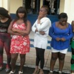 33 Commercial S3x Workers Arrested In Ghana, Face Deportation To Nigeria