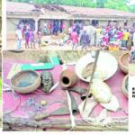 Church Or Shrine? Ebonyi Community Banishes Pastor, Sacks Church Over Fetish Practices
