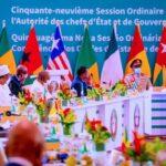 PHOTOS: Jonathan, Adesina Join Buhari In Ghana For ECOWAS Summit