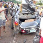 PHOTOS: Fatal auto crash claims three lives in Ondo