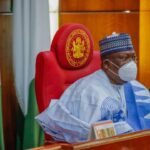 Senate leaking roof: Buhari told us to look for money when we met him – Lawan