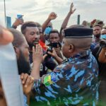 Breaking: Police Scatter Lagos June 12 Protesters With Tear Gas (Photos)
