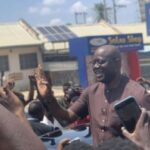 BREAKING: Makinde Joins June 12 Protesters In Ibadan Photos & Video