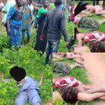 Photos: Suspected Fulani Herdsmen Attack Nasarawa, Kill Four Women, 2 Others