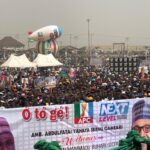 Thousands Of APC Members Dump Party, Burn Brooms In Kwara (photos)