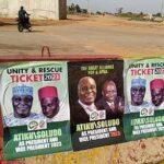 2023: Atiku, Soludo Joint Presidential Campaign Posters Flood Abuja