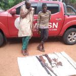 Amotekun Arrests Two Suspected Fulani Bandits With AK47, Pump-Action Guns In Oyo