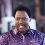Daddy Freeze, Peter Of Psquare React As Pastor Celebrates T.B. Joshua's Death With His Members