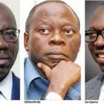 Edo: Oshiomhole, Ize-Iyamu Beg Obaseki After Supreme Court Victory