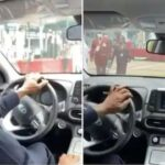 VP Osinbajo Test Drives Nigerian-Made Kona Electric Car (Video)