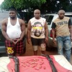 See The Three Suspected Armed Robbers Captured In Imo