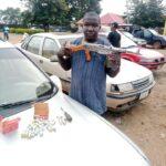 Police Arrest Gun Smuggler With Weapons Hidden In Car Bonnet (Photos)