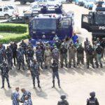 Yoruba Nation Rally: Security Operatives Take Over Gani Fawehinmi Park