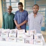 Niger Police parade three suspects with fake N15.8m currency notes