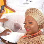Photos From Nollywood Actress, Lolo's Mother Burial Ceremony