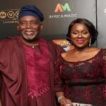 Veteran Actor, Olu Jacobs Turns 79 Years Old…Check Out How His Wife, Joke Silva Celebrated Him