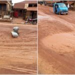 Residents, commuters beg FG to repair dilapidated Osogbo-Ogbomoso road (photos)