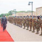Sunday Igboho: Buratai Meets President Of Benin Republic (Photos)