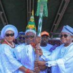 Oyetola presents staff of office to Owaloko of Iloko-Ijesa (photos)