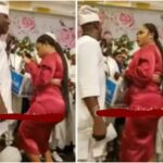 Reactions As Curvy Sister Of Ooni's Wife 'Steals Show' At Royal Event (VIDEO)