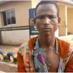 VIDEO: Residents caution police against releasing suspect allegedly involved in murder of Oyo youth leader
