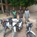 Ex-Convict In Security Outfits Caught With 5 Stolen Motorcycles  (photos)