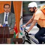 Afghan Minister Becomes Bicycle Courier After Moving To Germany For A Better Life (photos)