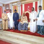 Ex-President Jonathan Visits Olu Of Warri, Ogiame Atuwatse III (PHOTOS)