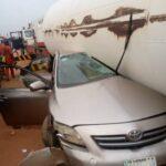One Dies As Gas Tanker Crushes Cars In Ogun