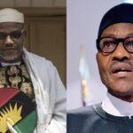 Nnamdi Kanu: IPOB not defending Christians, out to promote terrorism, loot – Buhari